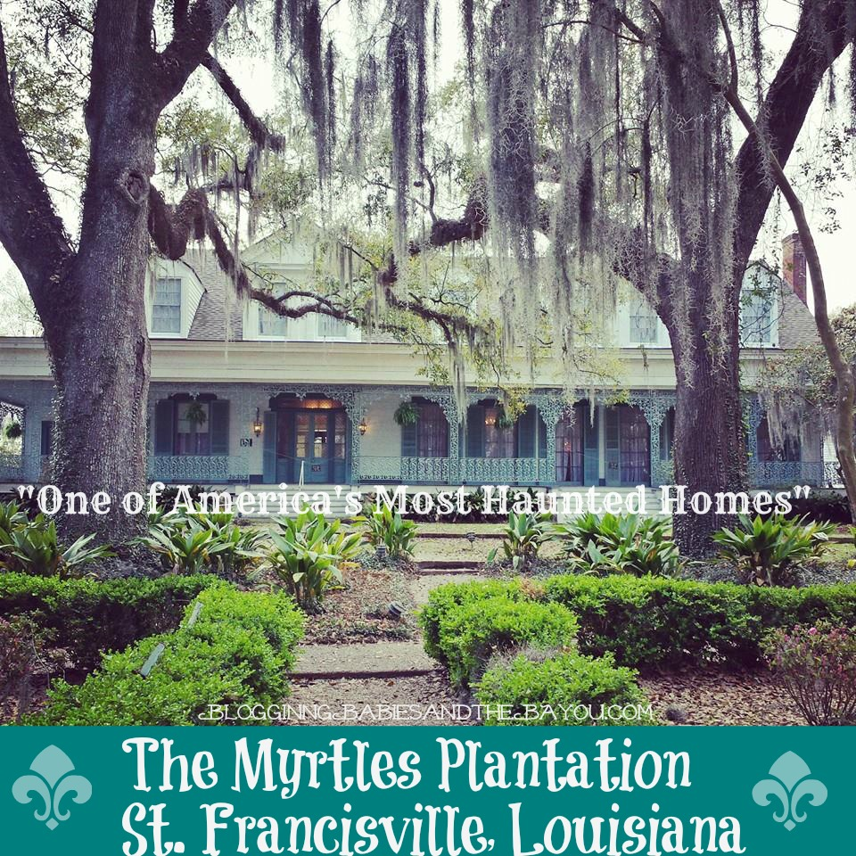 The Myrtles Plantation - St. Francisville, Louisiana  One of Americas Most Haunted Homes #BayouTravel