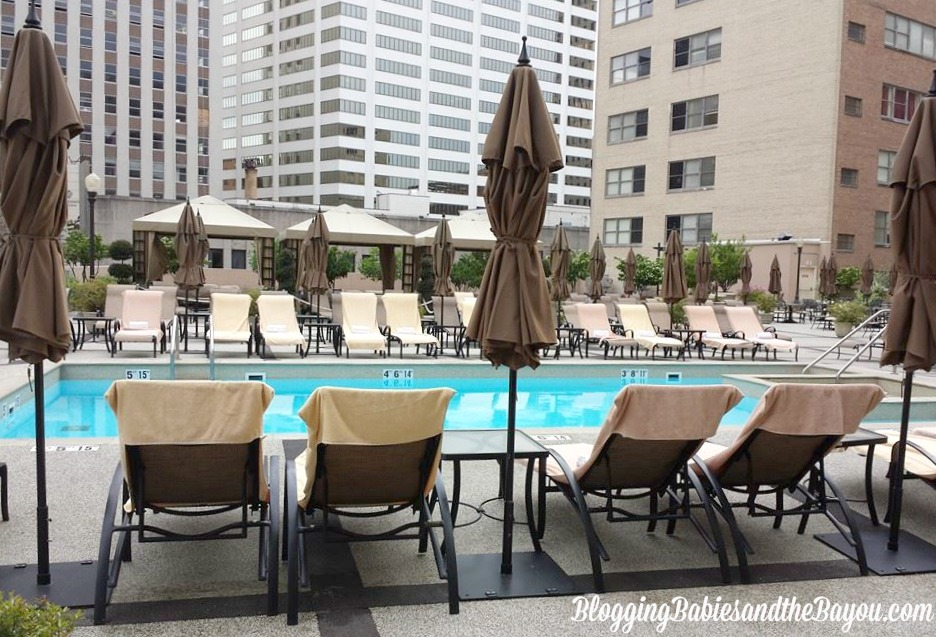 The Roosevelt Rooftop Pool & Waldorf Astoria Spa  #BayouTravel