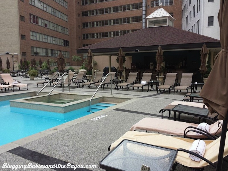 The Roosevelt Rooftop Pool & Waldorf Astoria Spa  #BayouTravel