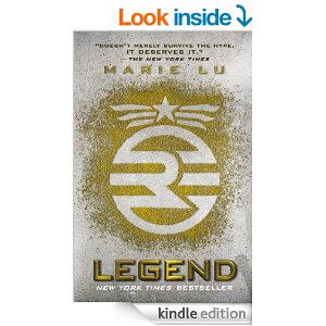 Lefend by Marie Lu A New York Times Best Seller | Top Sumer Reads for Teens