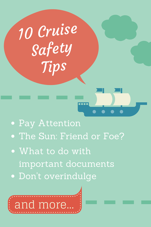 10 Cruise Safety Tips - How to Keep Your Family Safe When Traveling by Cruise Ship #BayouTravel