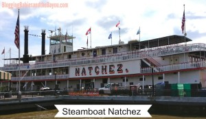 New Orleans Travel: Family Fun Day Aboard the Steamboat NATCHEZ #BayouTravel