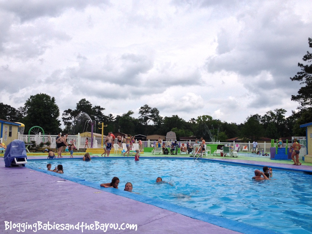 Summer Camping at Yogi Bear Jellystone Park - Robert Louisiana