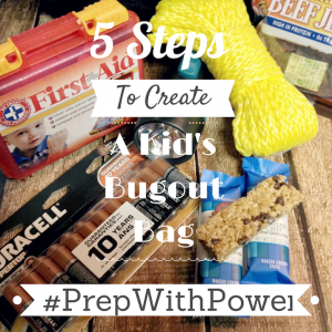 5 Easy Steps to a Kid Inspired Bug Out Bag with Duracell #PrepWithPower #CollectiveBias #Shop