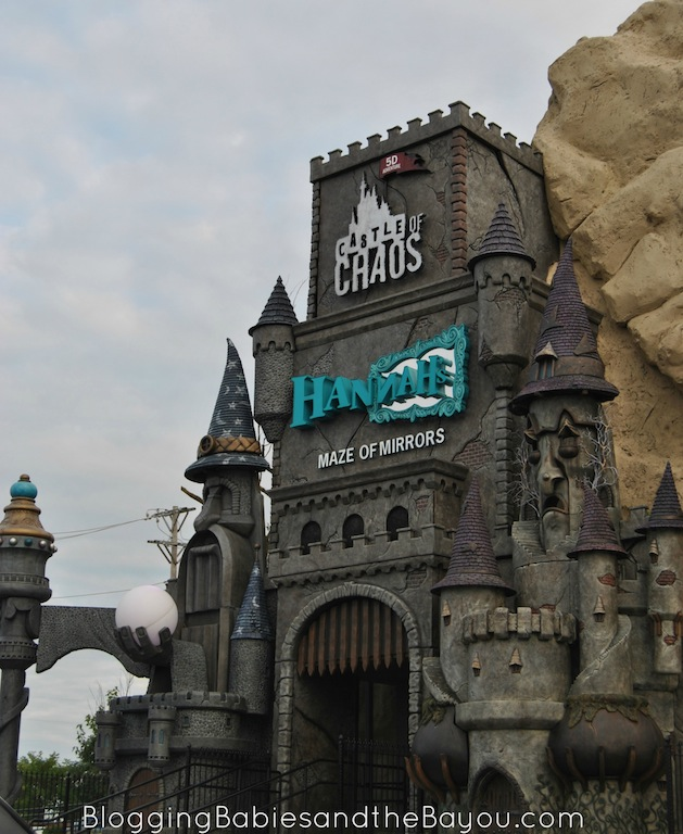 Castle of Chaos & Hannah Maze of Mirrors - Combo Tickets with Hollywood Wax Museum #ExploreBranson #BayouTravel