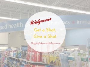 Get A Shot, Give A Shot at Walgreens #GiveaShot #shop #Cbias