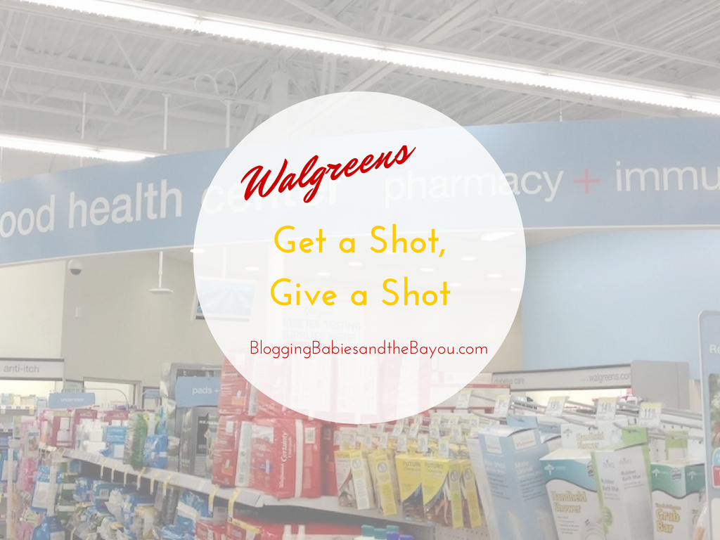 Get  a Shot, Give a Shot with Walgreens - #GiveaShot #Cbias #Shop