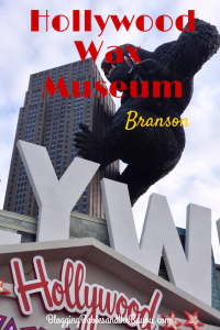Stars of the Cinema – Hollywood Wax Museum Branson  #ExploreBranson #BayouTravel