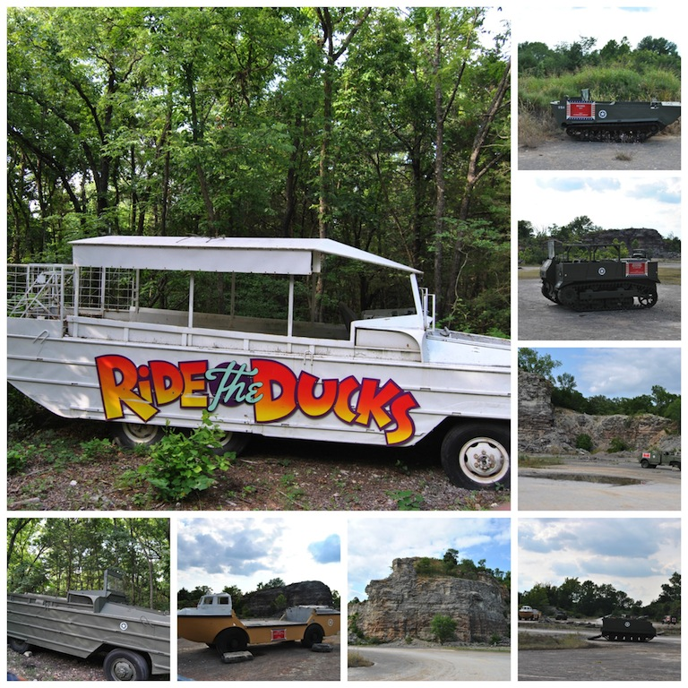 New Ride The Ducks & Historic American Military Vehicles Tour including WWII DUKW #ExploreBranson #BayouTravel