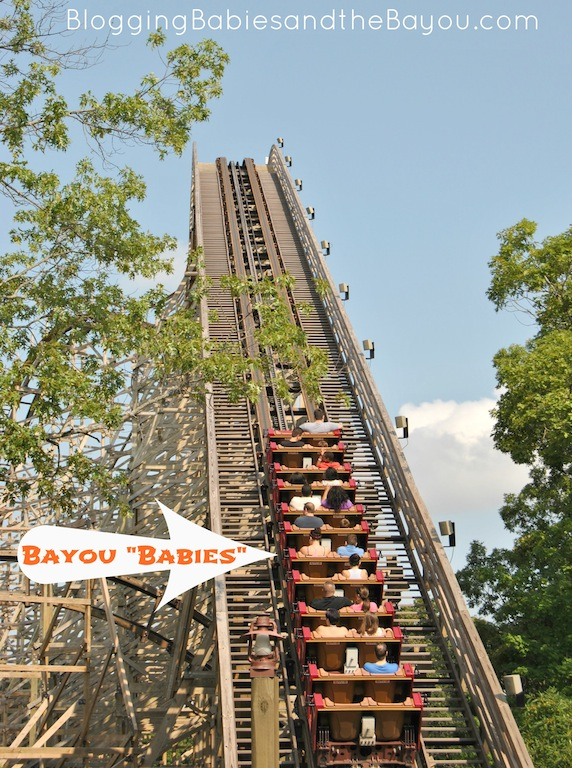 Outlaw Run - The Worlds Most Daring Wood Rollercoaster - Silver Dollar City #ExploreBranson #BayouTravel