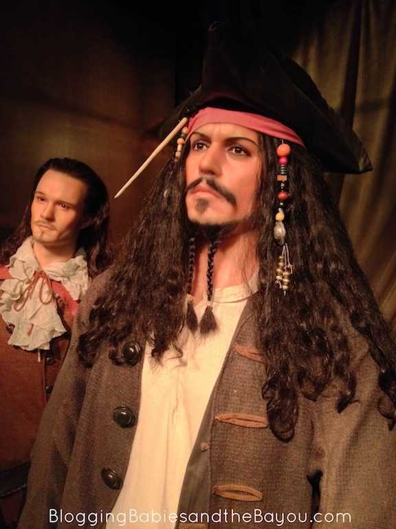 Pirates of the Carribean at Hollywoof Wax Museum #ExploreBranson #BayouTravel