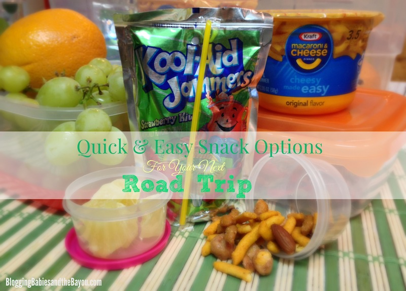 Quick & East Snack Options for your Next Road Trip  #MyColectiva #ComidasFaciles #CollectiveBias #Shop