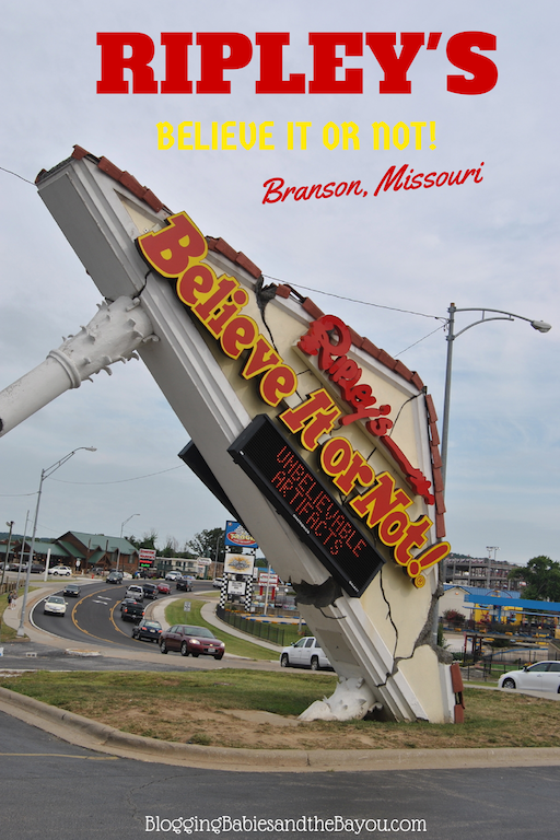 Family Attractions in Branson - Ripleys Believe It Or Not Odditorium Branson Missouri