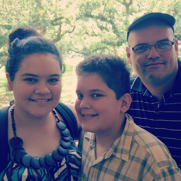 Sinclair Family at Oak Alley plantation