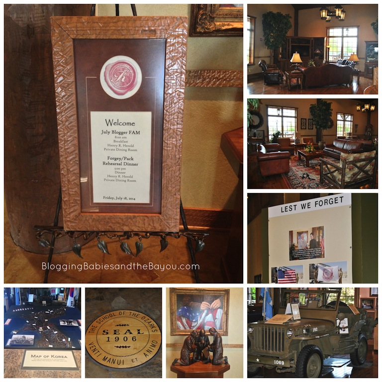 The sights at  The Keeter Center - College of the Ozarks #ExploreBranson #BayouTravel