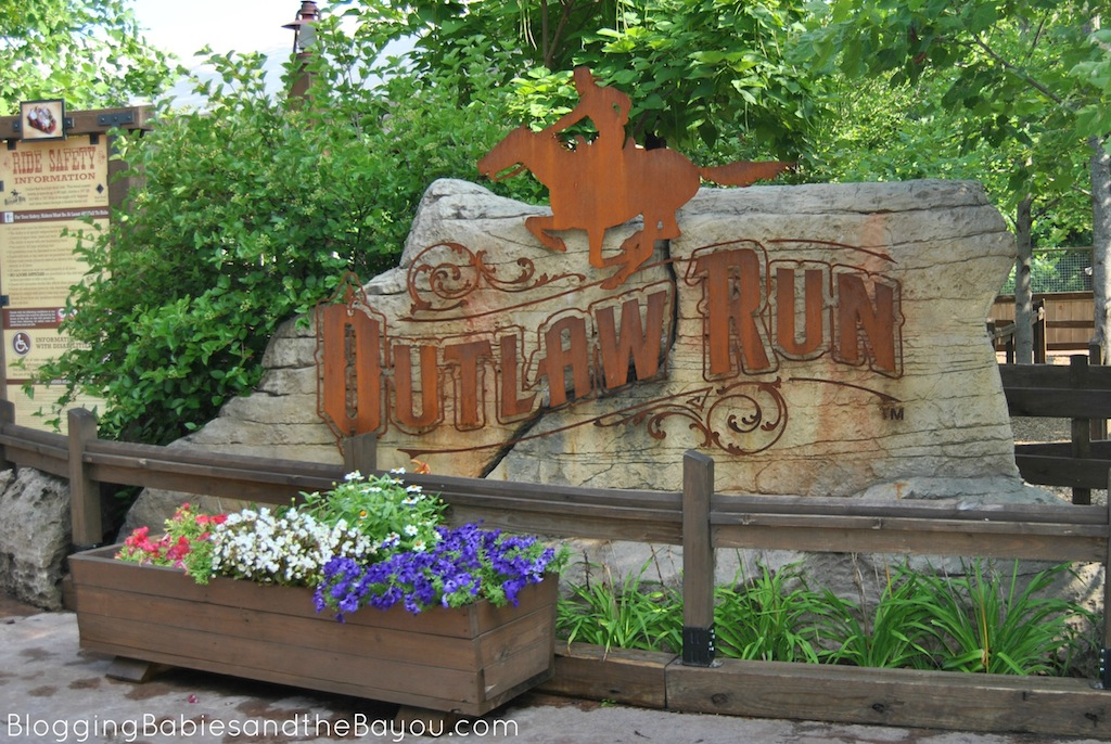 Thrill Rides and Adventure at Silver Dollar City including Outlaw Run #ExploreBranson #BayouTravel