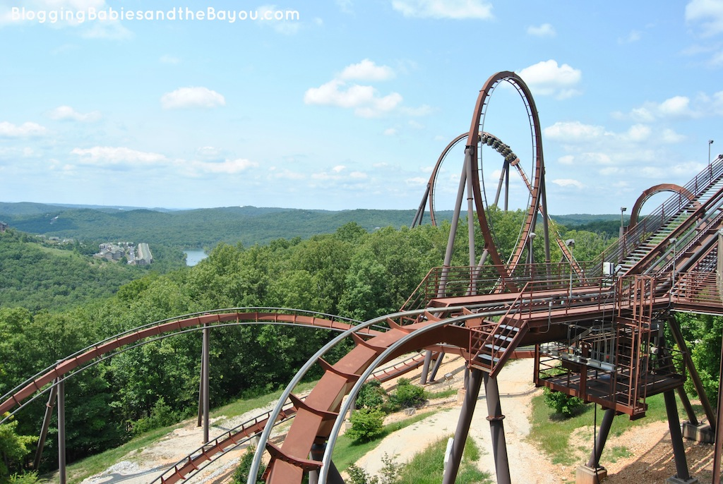 Thrill Rides and Rollercoasters at Silver Dollar City #EXploreBranson #BayouTravel