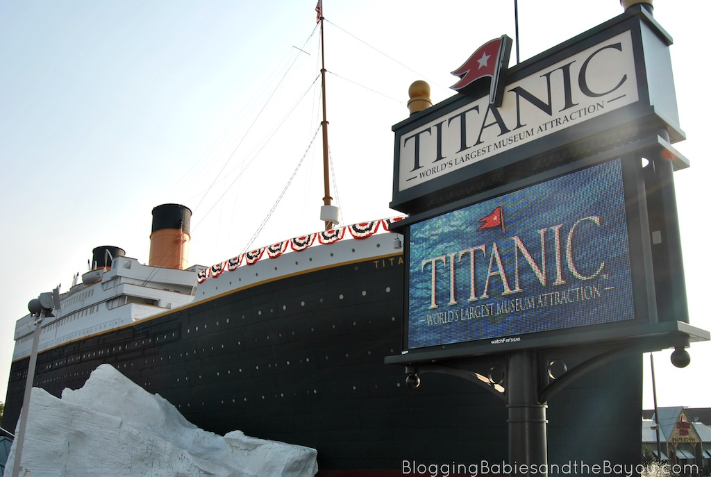 Titanic Museum Attraction - Branson Missouri The Worlds Largest Museum Attraction #ExploreBranson #BayouTravel