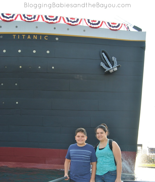 Titanic Museum - Branson Family Attraction #ExploreBranson #BayouTravel