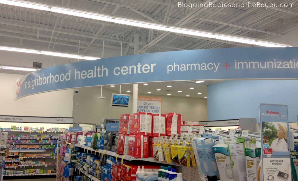 Walgreens Neighborhood Health Center - New Orleans Area Walgreens #GiveaShot #Cbias #Shop