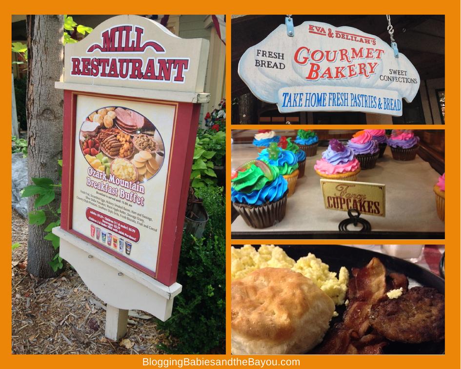 What to eat at Silver Dollar City Branson Missouri #ExploreBranson #BayouTravel#BayouTravel
