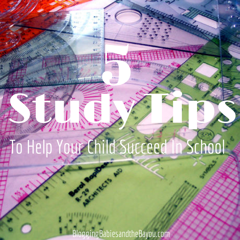 5 Study Tips To Help Your Child Succeed In School