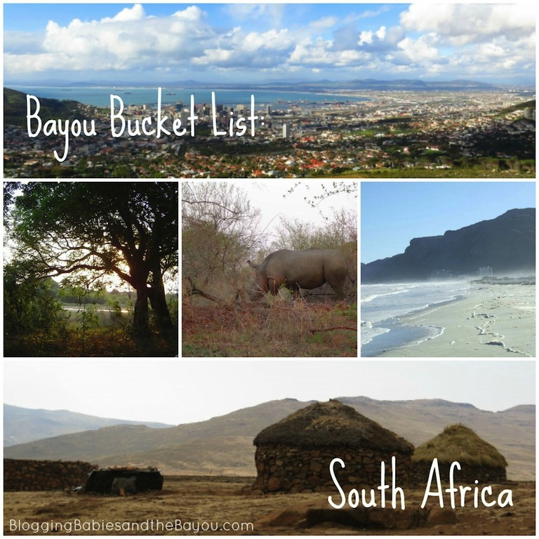 Bayou Bucket List - Travel to South Africa #BayouTravel