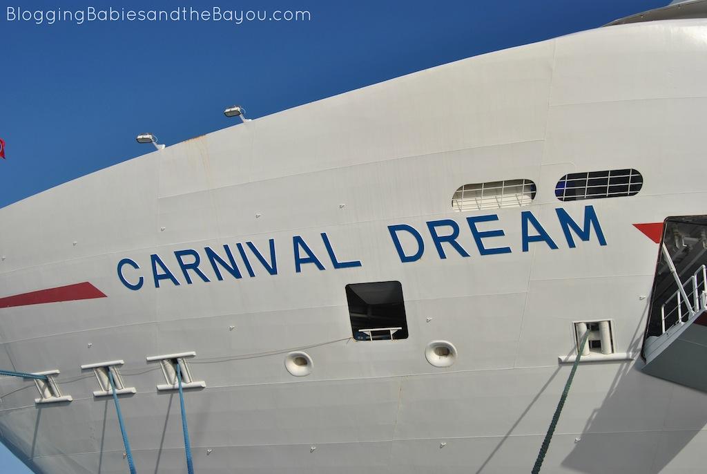 Carnival Dream When the Sun Goes Down #CruisingCarnival #BayouTravel
