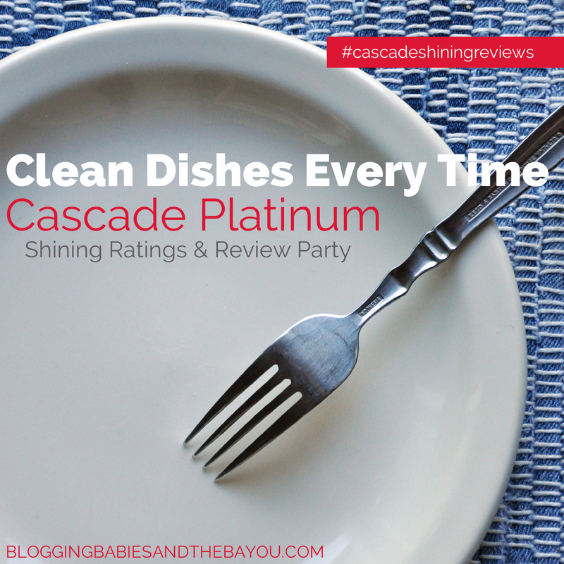 Cascade Platinum Shining Rating Review Party  #CascadeShiningReviews