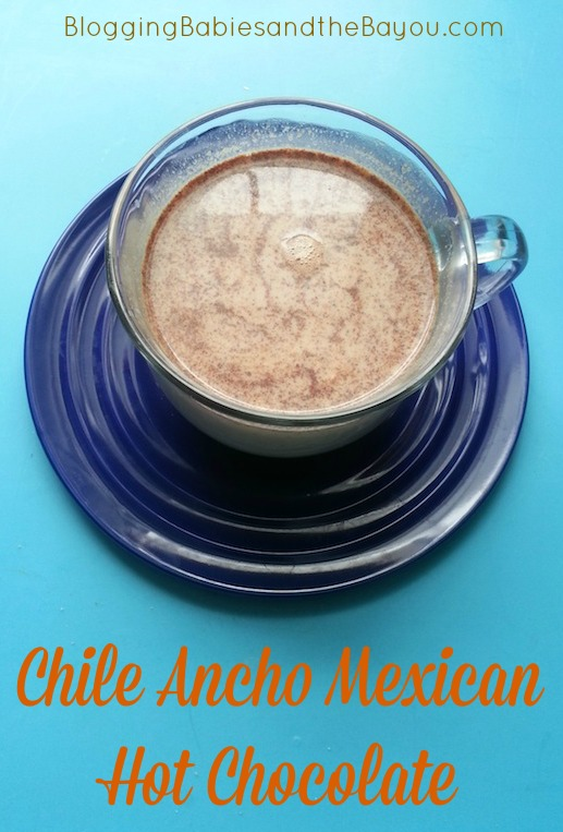 How to Make Chile Ancho Mexican Hot Chocolate - Latino Inspired Recipes #Recipes