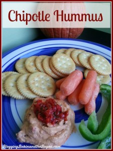Quick and Easy Party Ideas- Chipotle Hummus Recipe