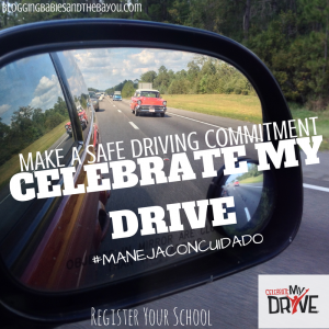 Make a safe driving commitment -Celebrate My Drive