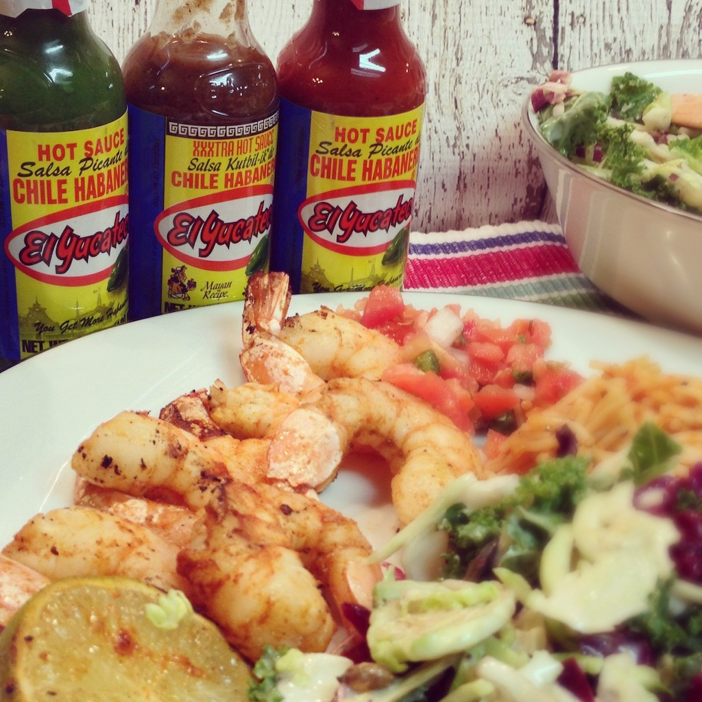 Meals for Families on the Go - Picante Camarón con El Yucateco  #SauceOn #MyColectiva #Shop