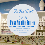 Polka Dot Pots – Paint Your Own Pottery in the Smoky Mountains #BayouTravel