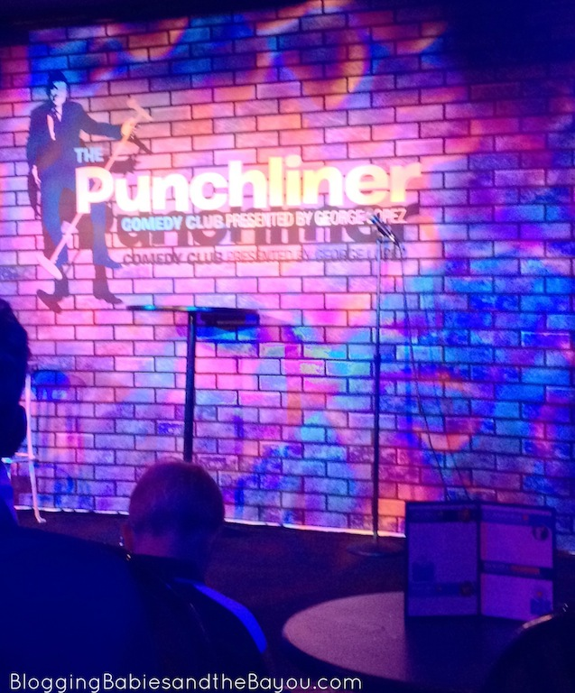 Punchliner Comedy Club aboard Carnival Dream #CruisingCarnival #BayouTravel