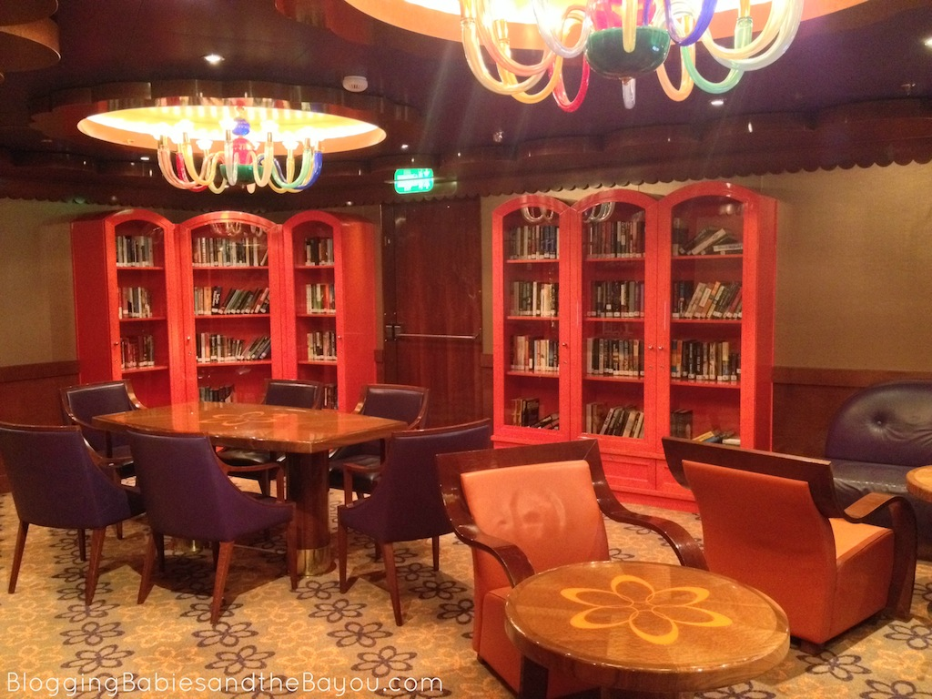 Quiet time aboard Carnival Dream - After Hours Activities #CruisingCarnival #BayouTravel