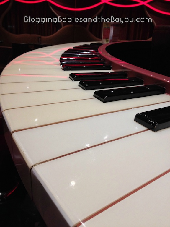 Sam Piano Bar aboard Carnival Dream - After Hours Activities #CruisingCarnival #BayouTravel