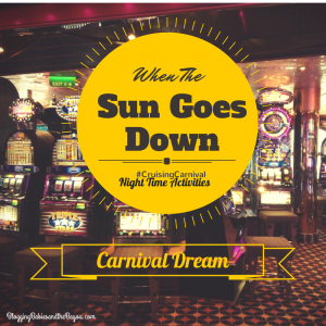 Carnival Dream – When The Sun Goes Down Cruise Ship Entertainment #CruisingCarnival #BayouTravel
