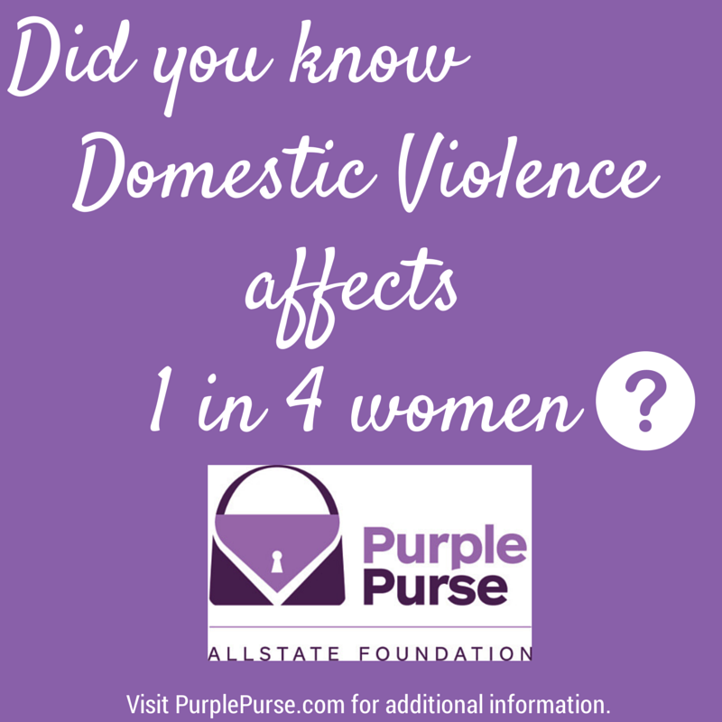 Allstate Foundation - Pass the Purse to end domestic and financial abuse #PassthePurse #Ad.