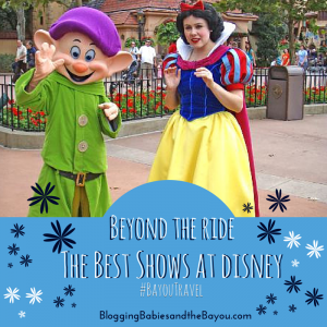Beyond the Rides: Disney's Best Shows #BayouTravel