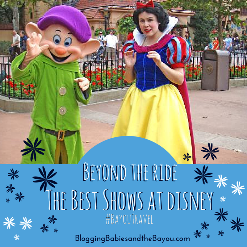 Beyong the Ride_ The Best Shows at Disney #BayouTravel