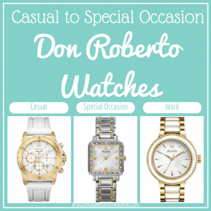 From Work Casual to Special Occasion – Don Roberto's 2014 Watch Collection #ad