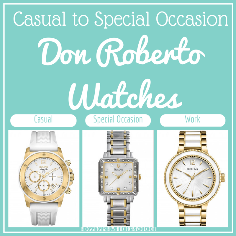 Casual to Special Occasion - Don Roberto Watches