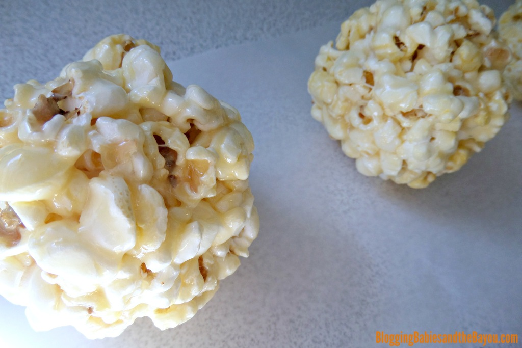 Chocolate Covered Fall Popcorn Balls Step by Step Recipe