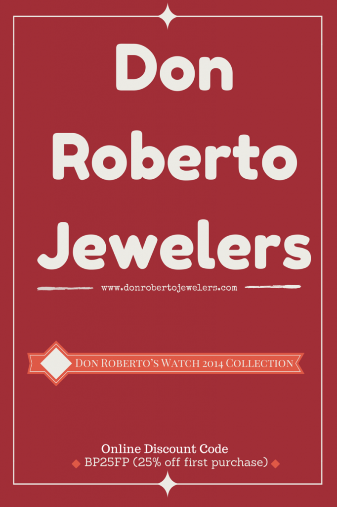 Don Roberto Jewelers - Don Roberto's Watch 2014 Collection