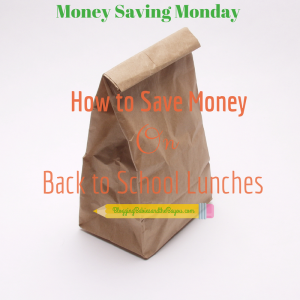 Money Saving Monday Series – How to Save Money on Back to School Lunches