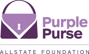 Allstate Foundation Purple Purse Campaign Domestic Violence and Financial Abuse #PurplePurse #Ad