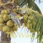 5 Tropical Destinations to Visit This Winter  #BayouTravel