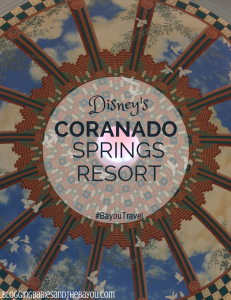Walt Disney World Resort Options – Disney's Coranado Springs Resort #BayouTravel