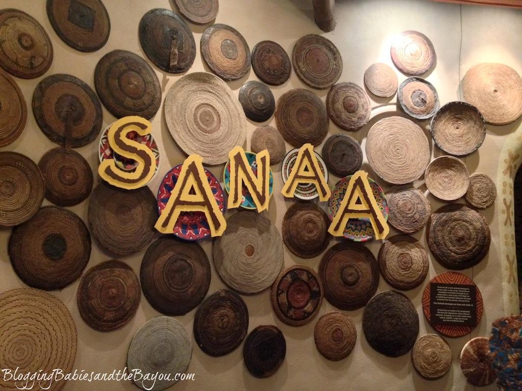 Disney Dining Options - Dinner at Sanaa at Animal Kingdom Lodge #BayouTravel